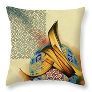 Calligraphy 26 Throw Pillow
