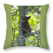 Calling For Mom Throw Pillow