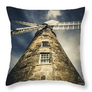 Callington Mill In Oatlands Tasmania Throw Pillow