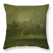 Calm Before The Storm 1870 Throw Pillow