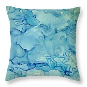 calm before the Storm 3 Throw Pillow