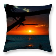 Calm Between The Storms Throw Pillow