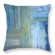 Calm Throw Pillow