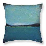 Calm Ocean 2 Throw Pillow