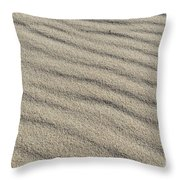 Calm Sands Throw Pillow
