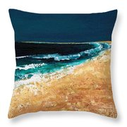 Calming Waters Throw Pillow