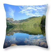 Calmness Speaks Throw Pillow