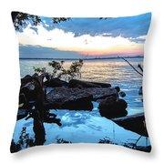Caloosahatchee Mangroves Throw Pillow