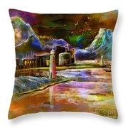 Calpe 02 Spain Throw Pillow