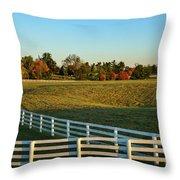 Calumet Fencing Throw Pillow