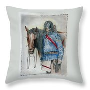 Calvary Scout Throw Pillow