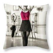 Camaguey Ballet 1 Throw Pillow