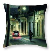 Camaguey Street Throw Pillow