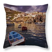Camara De Lobos, Madeira Throw Pillow