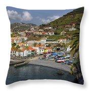 Camara De Lobos Madeira Throw Pillow