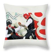 Camaradas Rojillos Throw Pillow