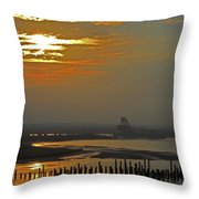 Cambodian Sunsets 1 Throw Pillow