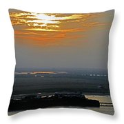 Cambodian Sunsets 2 Throw Pillow