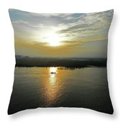 Cambodian Sunsets 3 Throw Pillow