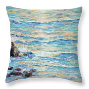 Cambria Rocks Throw Pillow