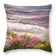 Cambria Spring Throw Pillow