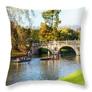 Cambridge 4 Throw Pillow