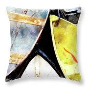 Camden Dories Wc Throw Pillow