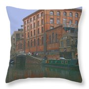 camden lock London Throw Pillow
