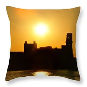 Camden Sunrise Throw Pillow