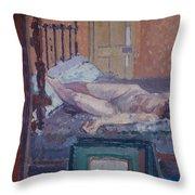 Camden Town Nude Throw Pillow