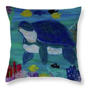 Came From A Sea Food Convention Throw Pillow