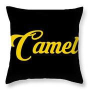 Camel-01 Throw Pillow