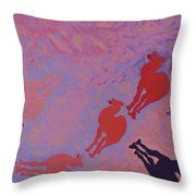 Camel Shepard Throw Pillow