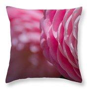 Camellia 2 Throw Pillow