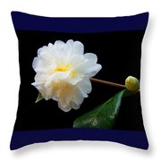 Camelia Trio Throw Pillow
