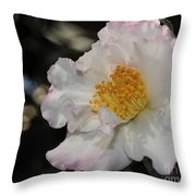 Camellia 1 Throw Pillow