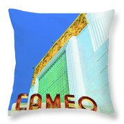 Cameo Theatre Throw Pillow