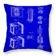 Camera Patent Drawing 2h Throw Pillow