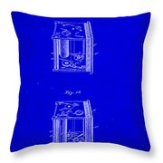 Camera Patent Drawing 3a Throw Pillow