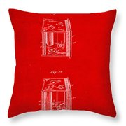 Camera Patent Drawing 3b Throw Pillow
