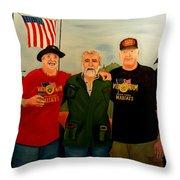 Camaraderie Throw Pillow