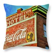 Cameron Patterson Hotel Throw Pillow