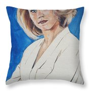 Cami Cooper Throw Pillow