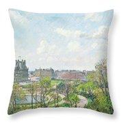 Camille Pissarro Throw Pillow
