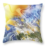 Camomile. 2010 Throw Pillow