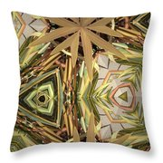 Camouflage Nature Throw Pillow
