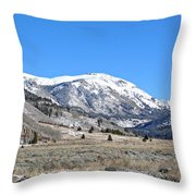 Camp Hale Historical Area Throw Pillow