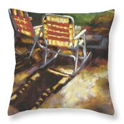 Camp Rocker Throw Pillow
