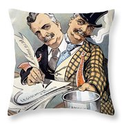 Campaign Contributions Throw Pillow
