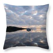 Campbeltown Dawn Throw Pillow